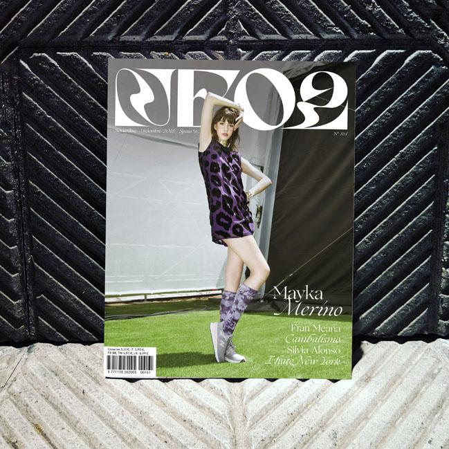 Neo2 revista portada con Mayka Merino