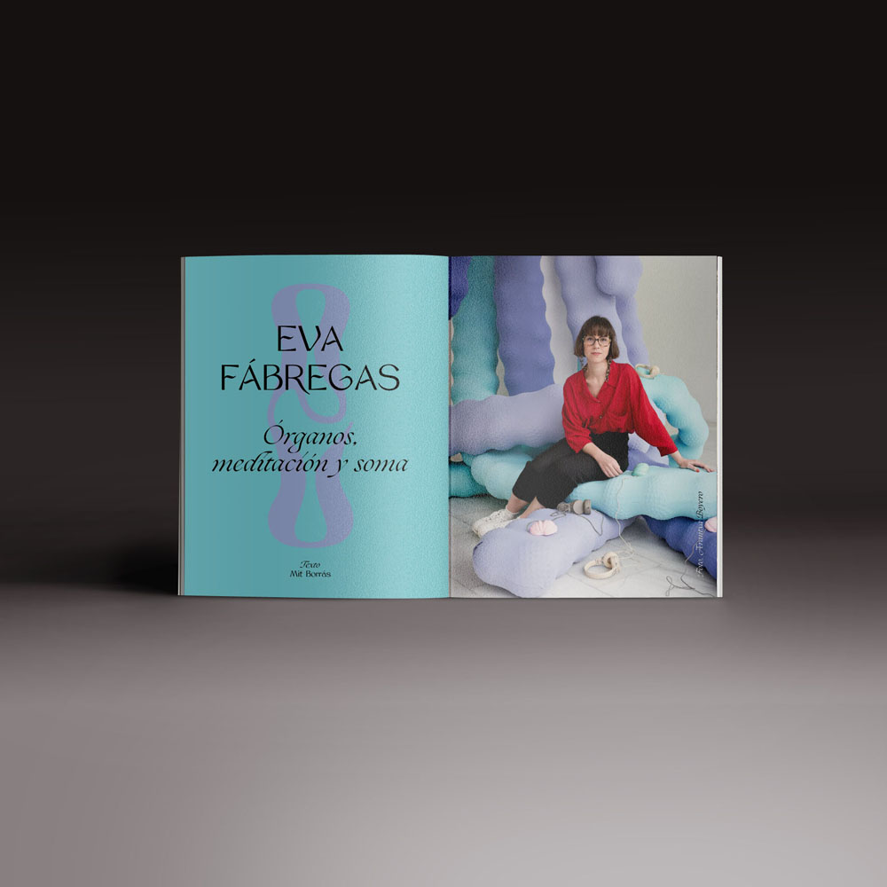 Neo2 revista 162. doble página de Eva Fábregas