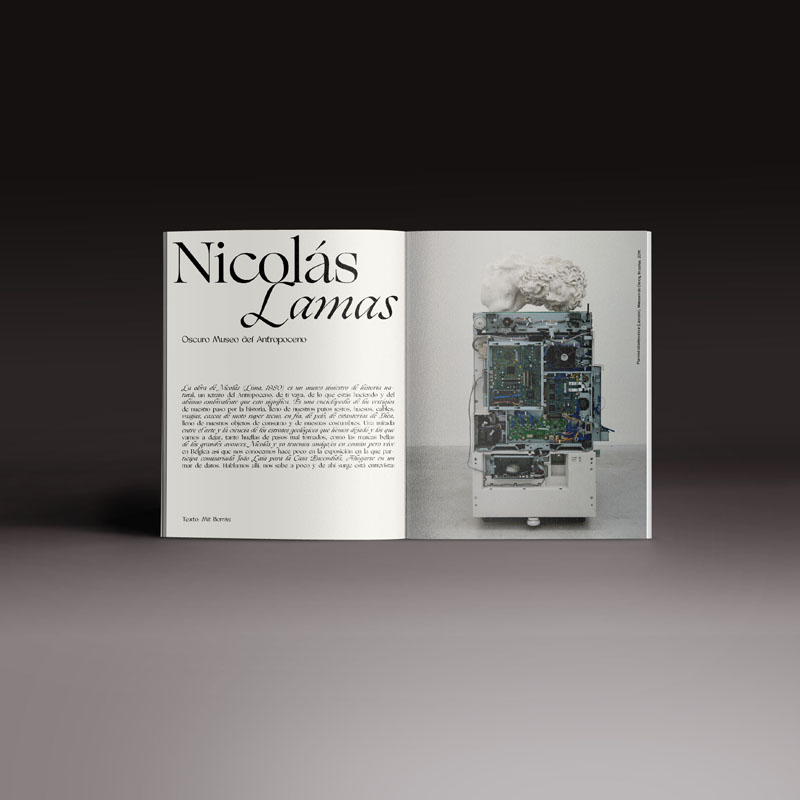 revista Neo2 164 interior doble paginas de Nicolás Lamas