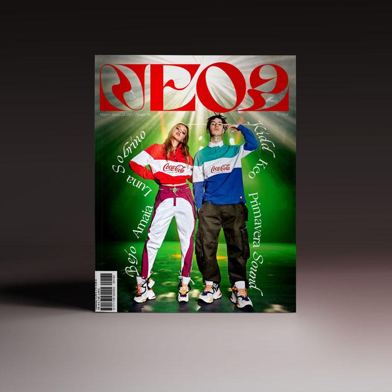 revista Neo2 164 portada con Kidd Keo y Luna Sobrino