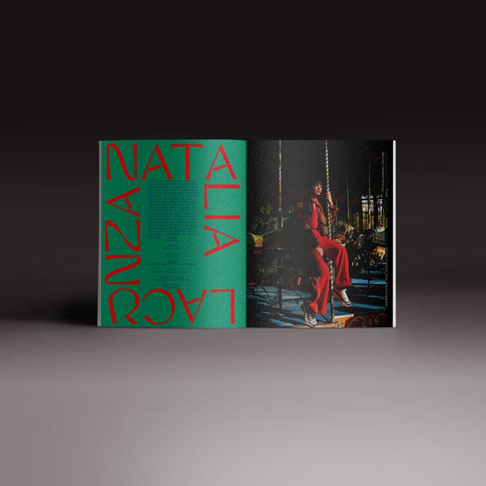 Neo2 revista 167, doble páginas con Natalia Lacunza