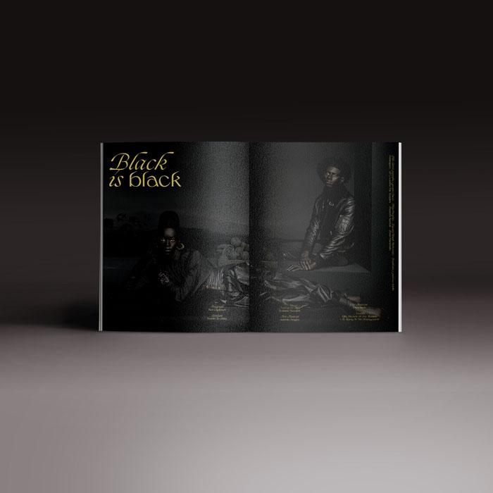 Neo2 revista 167, doble página con editorial de moda