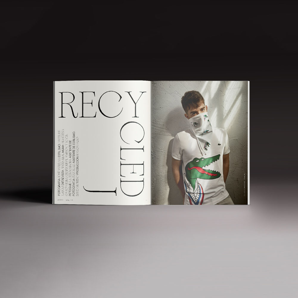Revista Neo2 169. Doble página Recycled