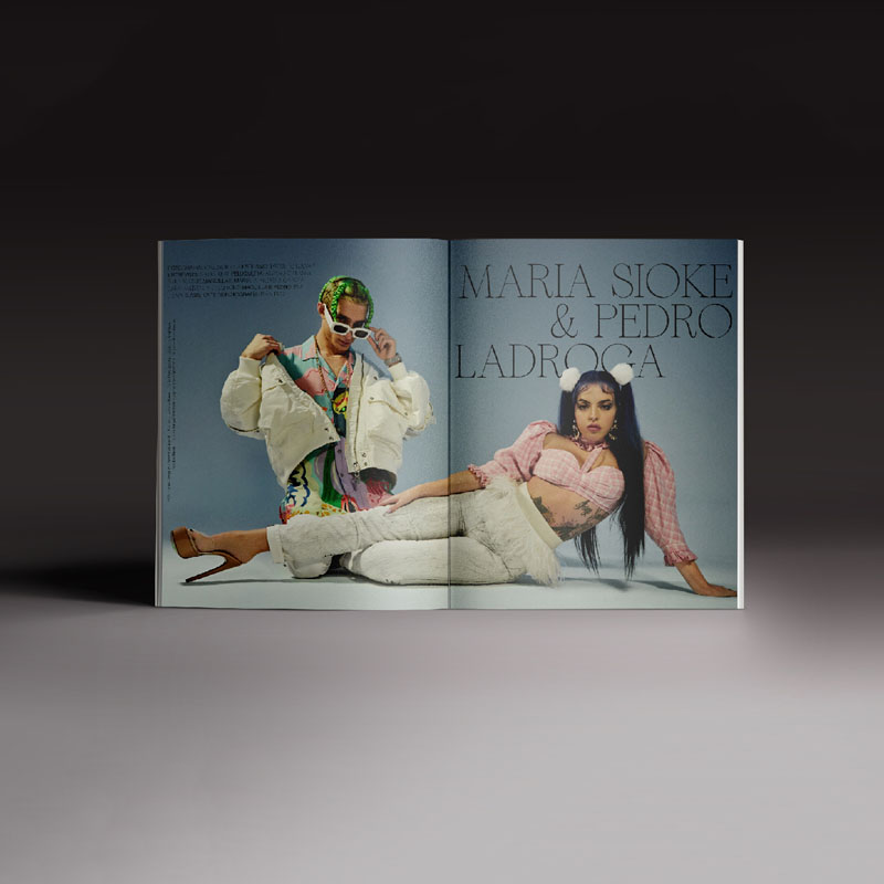 Revista Neo2 169. Doble página de María Sioke y Pero Ladroga