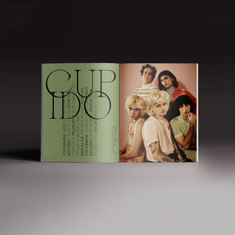 Revista Neo2 169. Doble página de Cupido