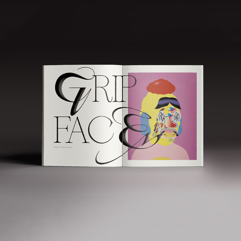 Revista Neo2 169. Editorial pagina de Grip Face