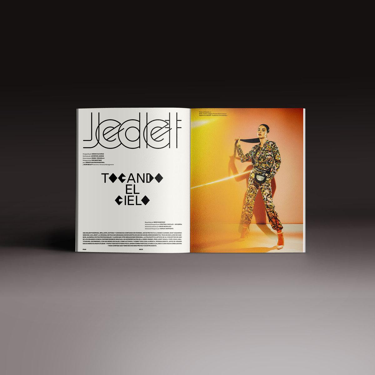 Neo2 Magazine doble pagina de Jedet