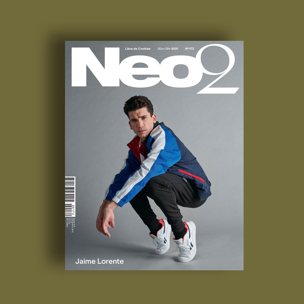 Neo2 Magazine portada de Jaime Lorente