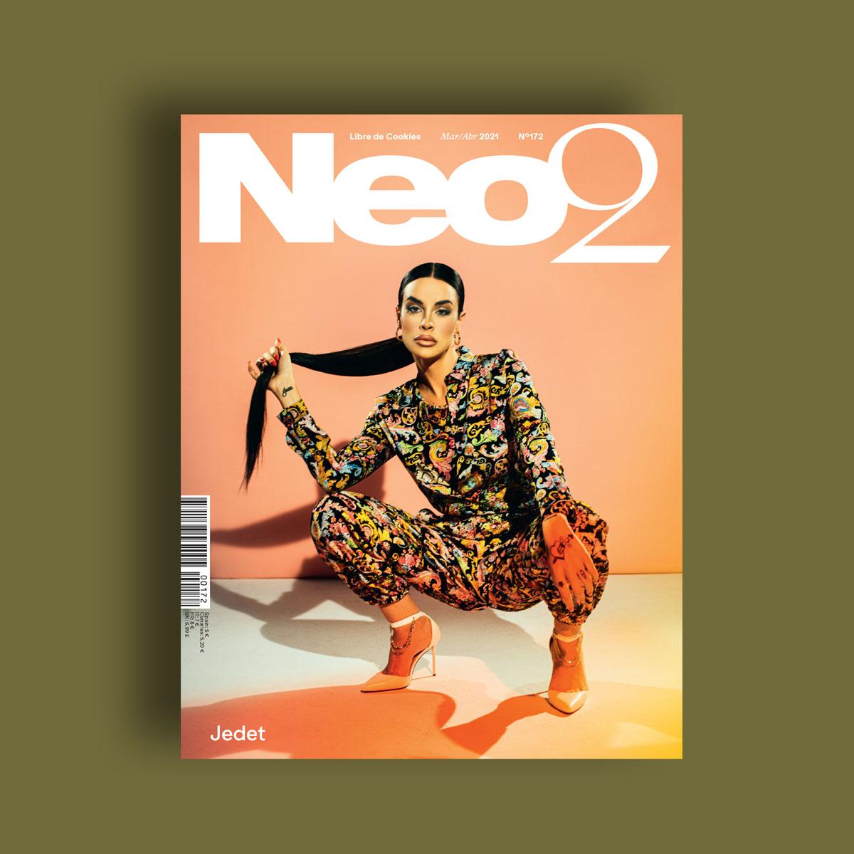Neo2 Magazine portada de Jedet