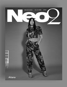 Neo2 Magazine papel portada Aitana en blanco y negro