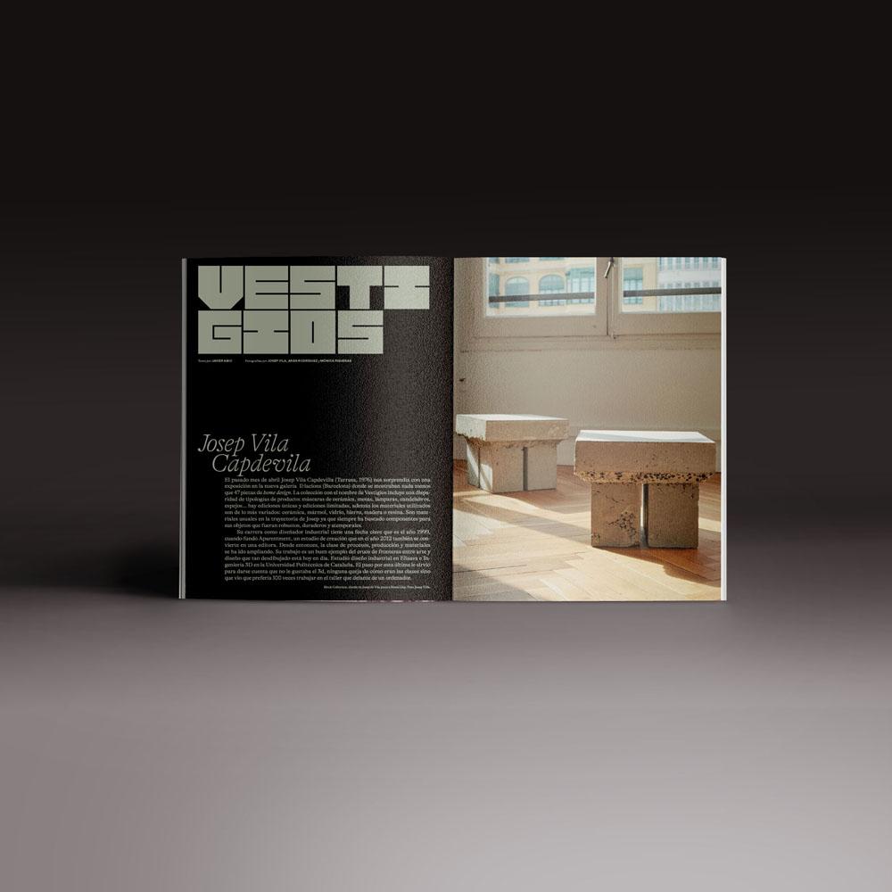 Neo2 Magazine 173 doble página de Josep Villa Capdevilla