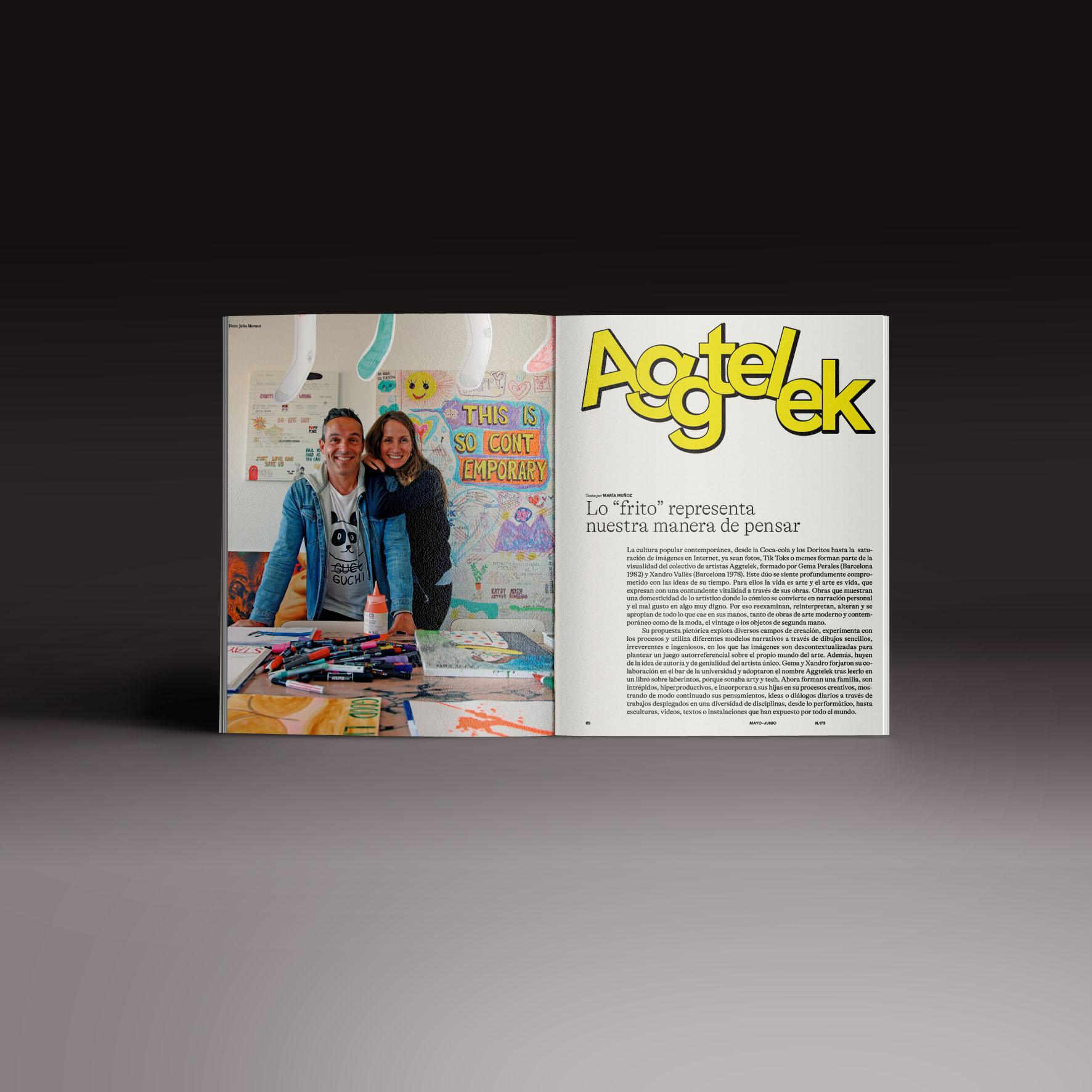 Neo2 Magazine 173 doble página de Aggtelek