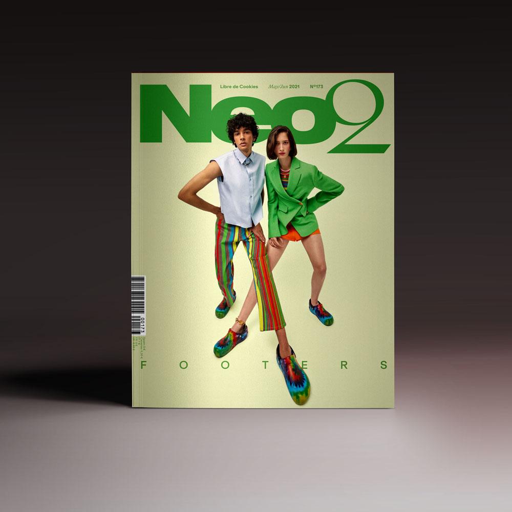 Neo2 Magazine 173 portada con los footers