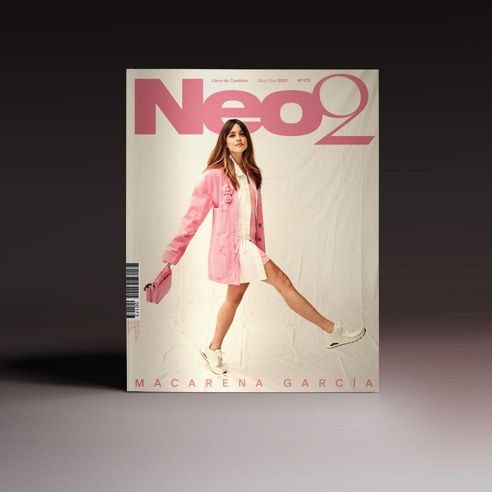 Neo2 Magazine 173 portada con Macarena García