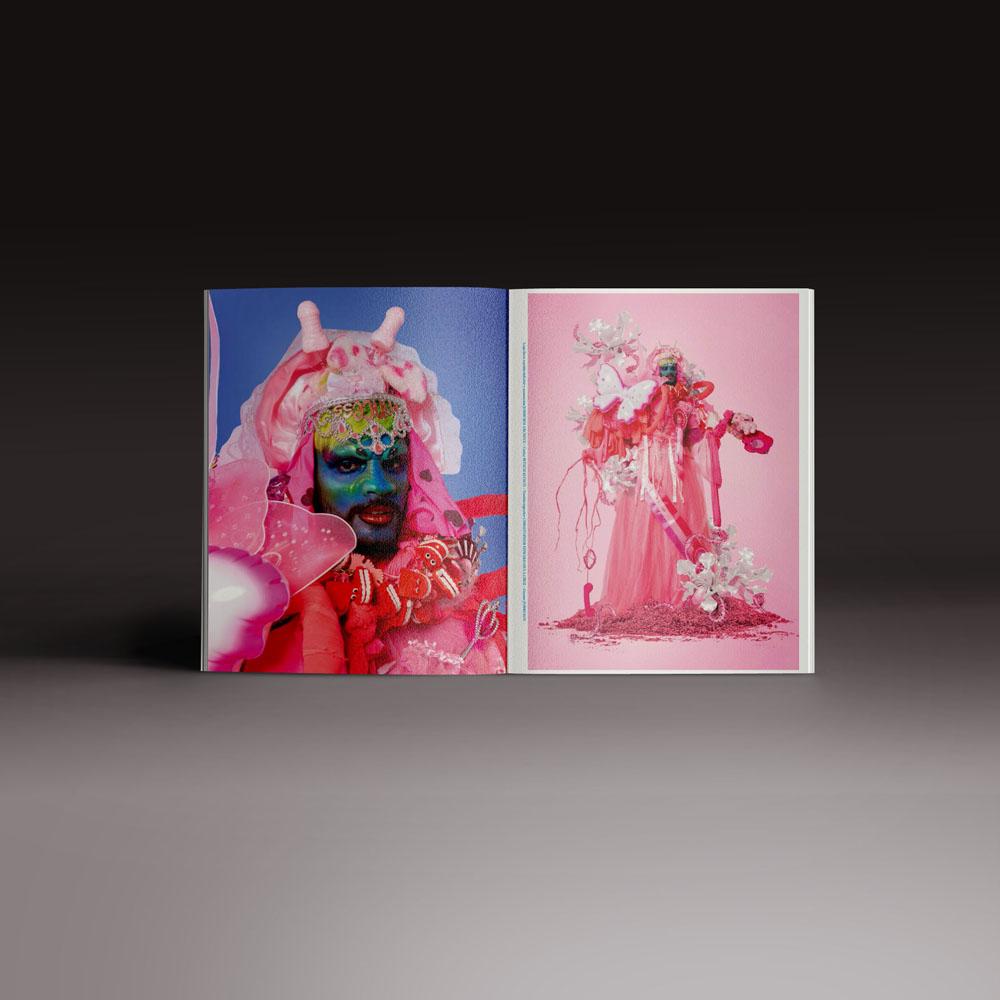 Neo2 Magazine: doble página interior de editorial moda