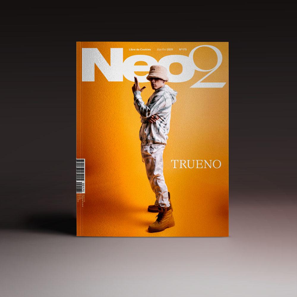Neo2 Magazine: portada con Trueno