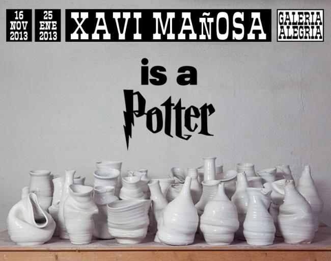 XAVI MAÑOSA IS A POTTER