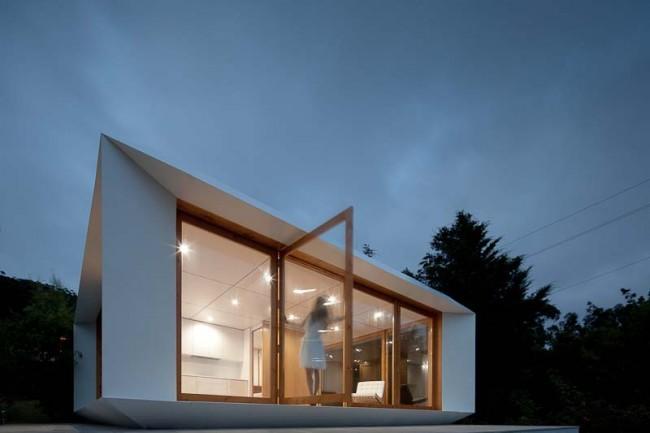 Una casa prefabricada de los arquitectos portugueses Mima