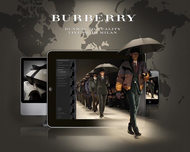 BURBERRY LIVE FROM MILAN