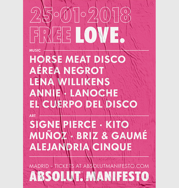 Absolut Manifesto: Música, Arte y Tecnología