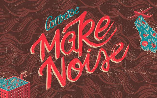 CONVERSE MAKE NOISE @ Barcelona