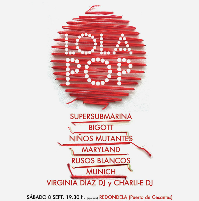 LOLAPOP 2012 INVITACIÓN