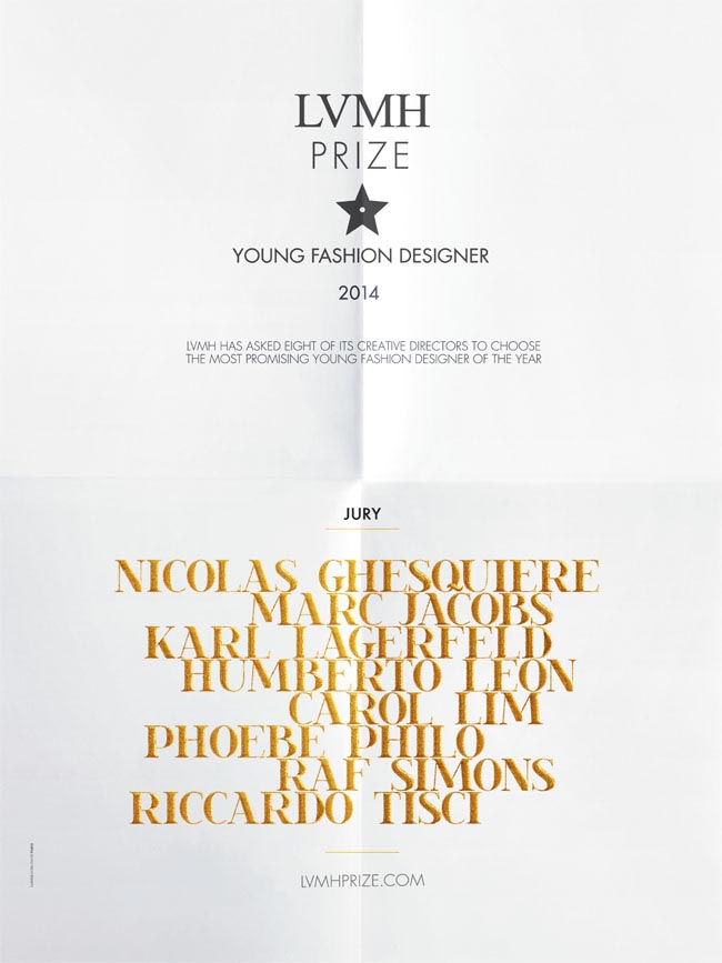 LVMH YOUNG FASHION DESIGNERS PRIZE