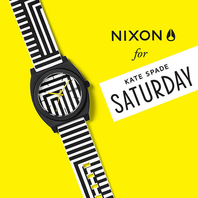 1-nixon-watch-kate-spade-saturday NIXON X KATE SPADE SATURDAY