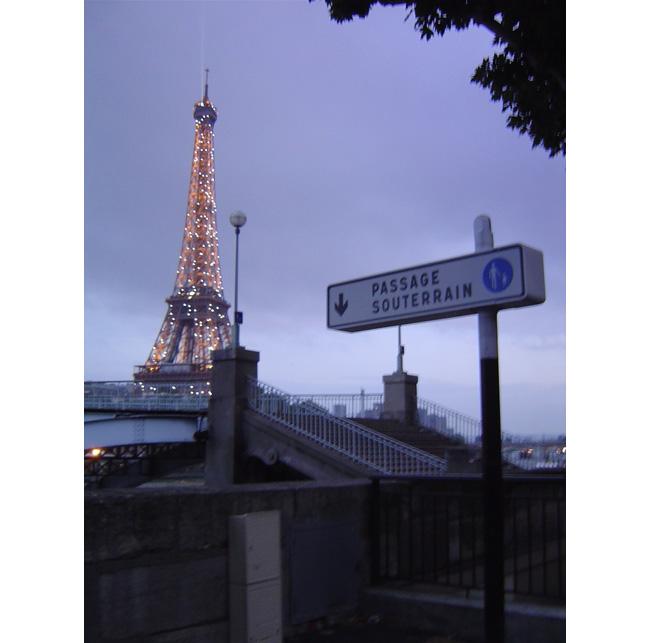 PASSAGE SOUTERRAIN PARIS