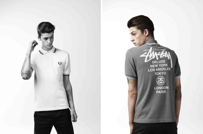 FRED PERRY + STUSSY