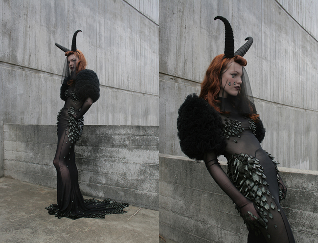 LADY GAGA: DRESS FOR A FUNERAL