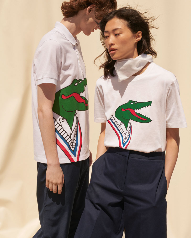 Los nuevos cocodrilos de Lacoste Crocoseries