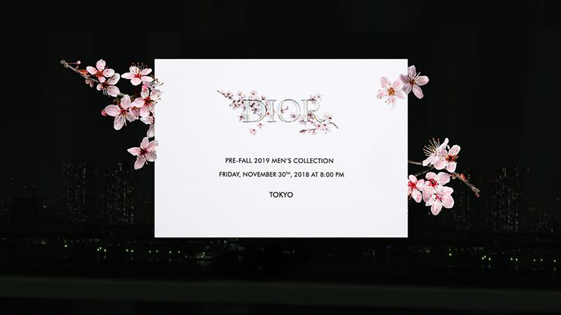 Dior Men Pre-Fall 19 en Tokio