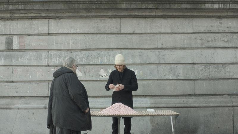Benjamin Loyauté en el Palais de la Porte Dorée