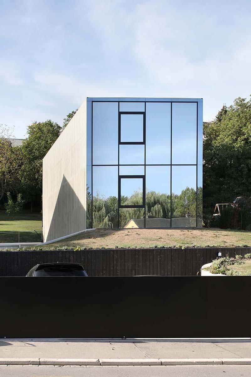 Casa unifamiliar brutalista en Luxemburgo