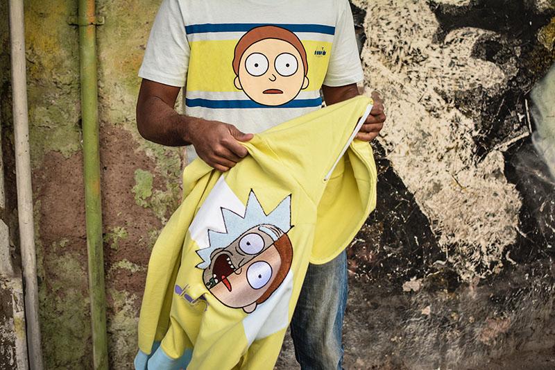 Diadora x Rick y Morty, colección cápsula con Foot Locker