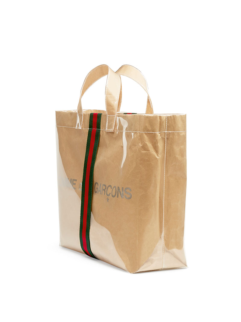 Gucci x Comme des Garçons crean el shopper definitivo