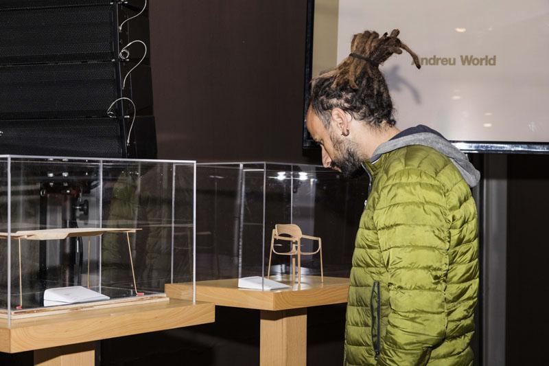 Concurso de Mobiliario: Ganadores Andreu World 2018