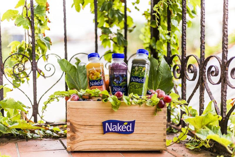 Smoothies Naked® Juice: frutas y verduras a diario