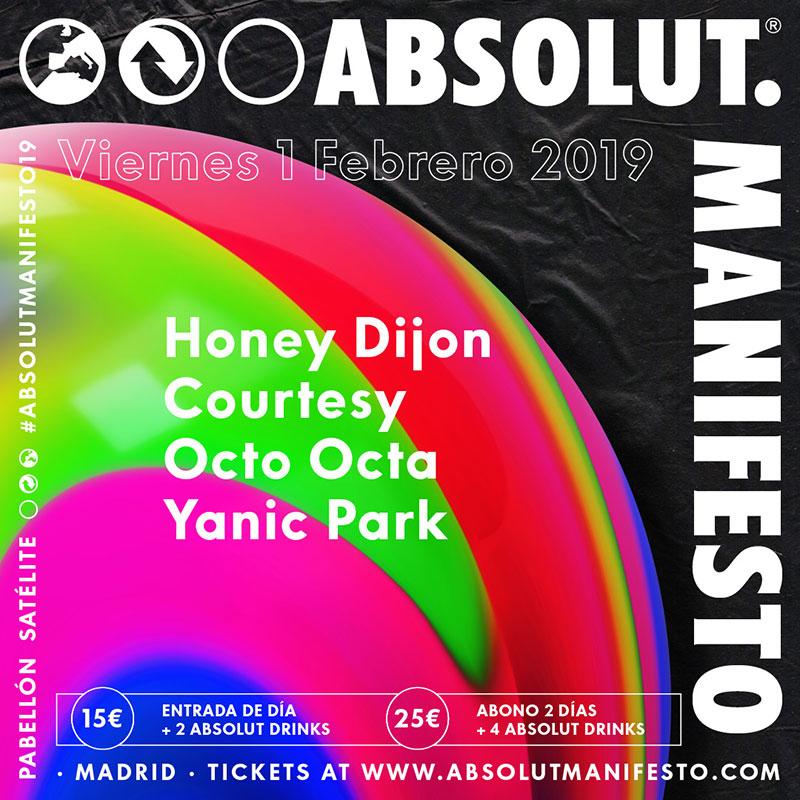 Absolut Manifesto 2019: Arte y Fiesta en Madrid