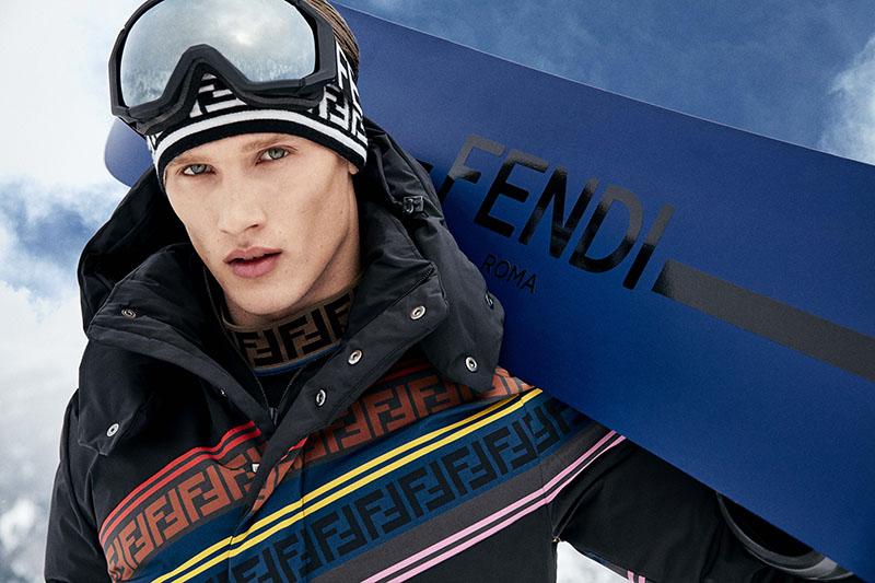 La colección nieve de Fendi te va a dejar tieso