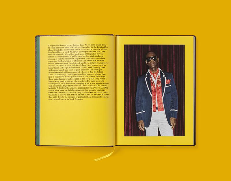 Dapper Dan protagoniza el nuevo libro de Gucci.