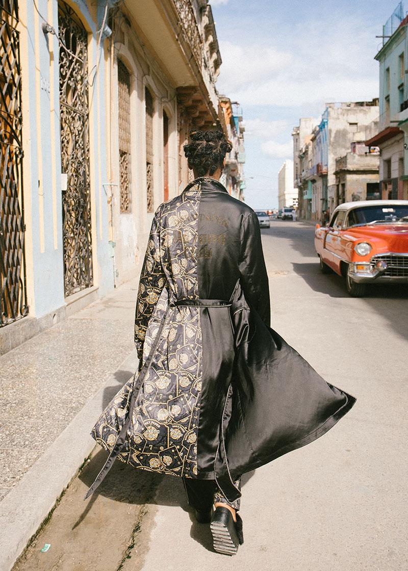 Colección cápsula Daily Paper x Havana Club: Arde Bélgica