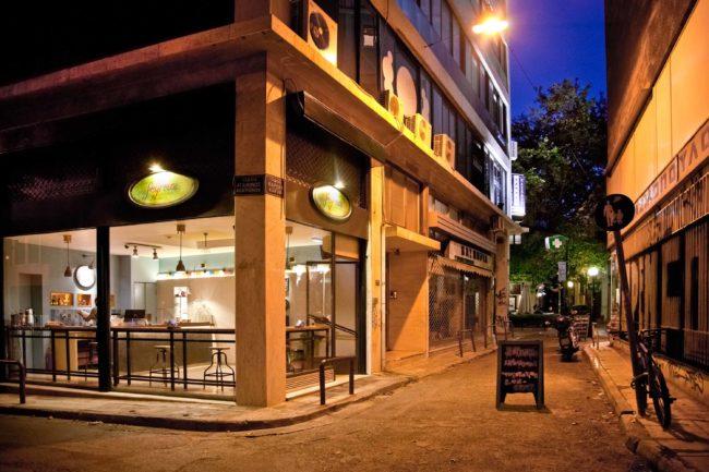 Restaurante Feyrouz en Atenas: sabor de Oriente Medio
