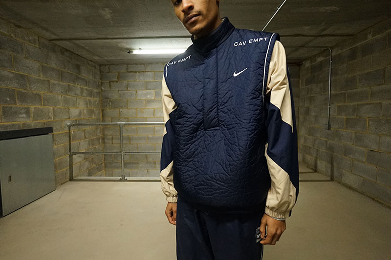 El nuevo chándal futurista de Nike x Cav Empt