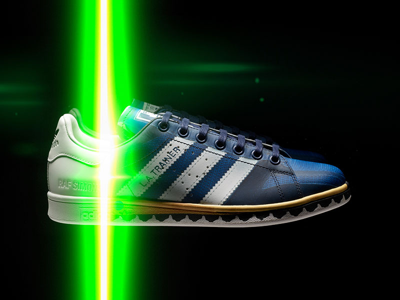 Zapatillas efecto trampantojo de adidas by Raf Simons