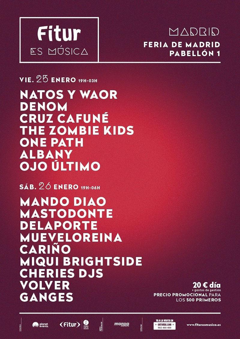 Llega la primera edición del Fitur Festival en Madrid