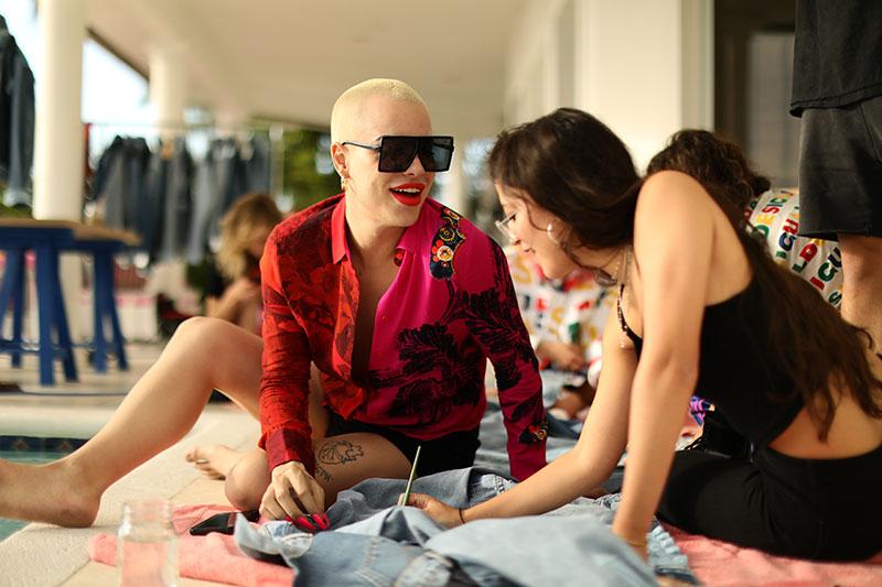 King Jedet y Aleesha Rose juntas en Miami con Desigual