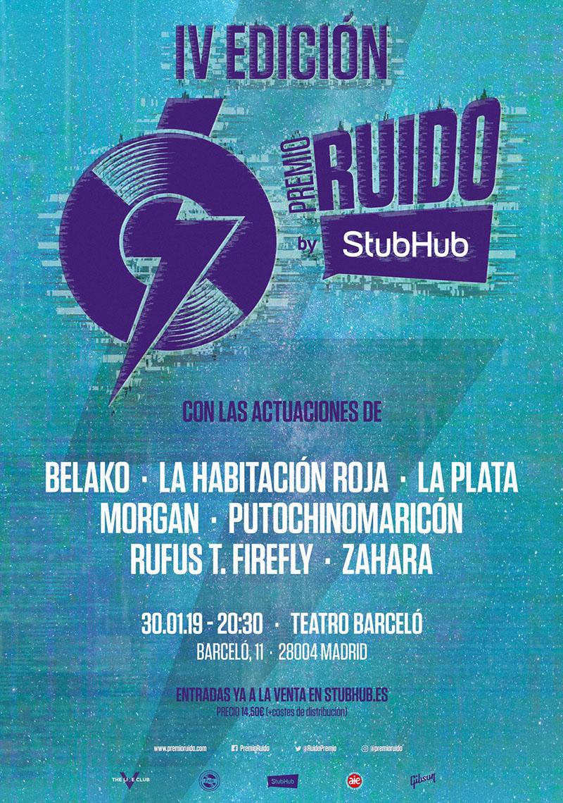 Cuarta entrega del Premio Ruido by StubHub