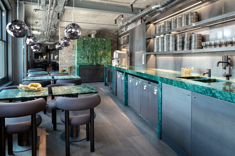 Restaurante The Coal Office por Tom Dixon
